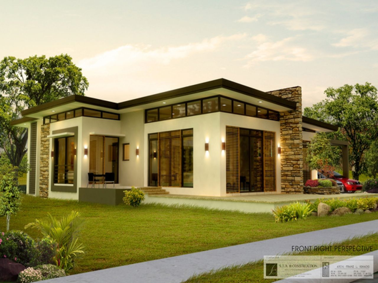 Beautiful Small Modern Bungalow Modern House