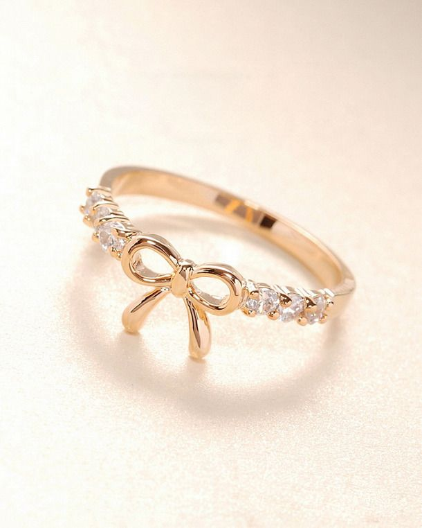 images of costume jewelry rings | fashion, jewelry, ring, butterfly knot, cute - image #744115 on Favim ...
