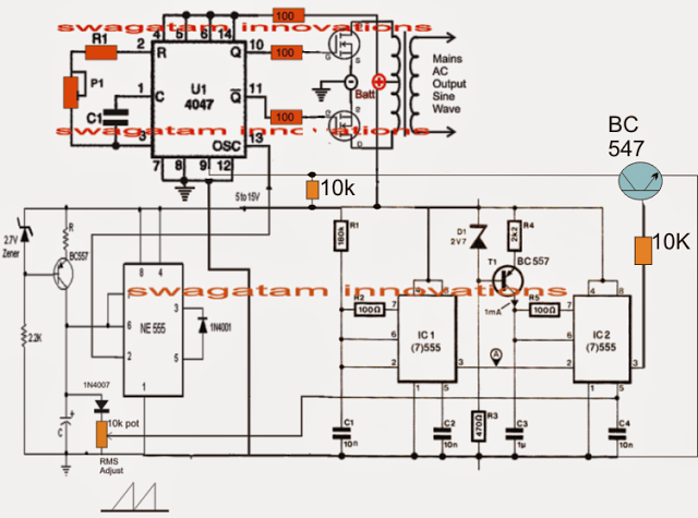 Pure Sinewave Generator Circuitcircuit Diagram World - Wiring