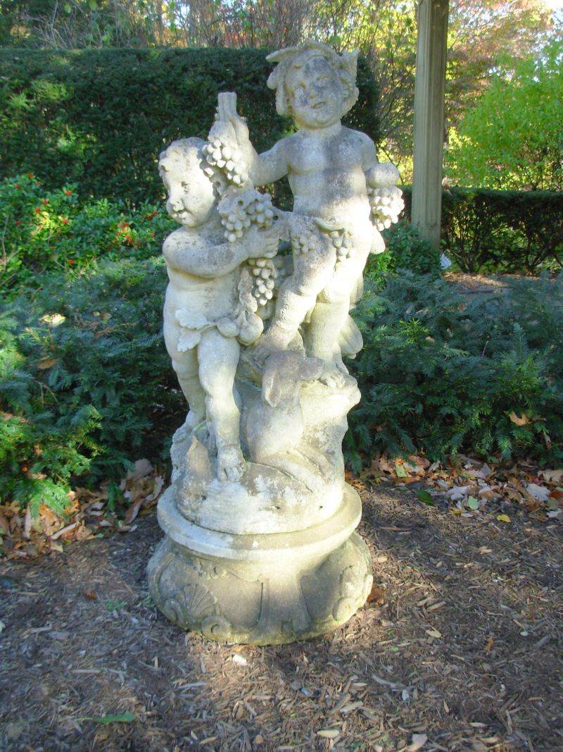 Pin by Vanna H on Cherub Cuteness Cherub, Garden, Sculpture