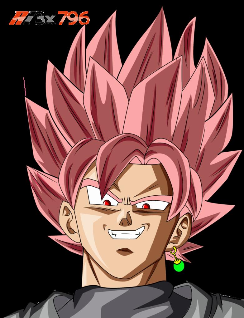 Black Goku Pink Hair Render Palette By Al3x796 Goku Black Goku Drawing Dragon Ball Wallpapers