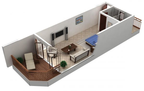 Small Studio Apartment Floor Plans Studio apartment Flats and Studio