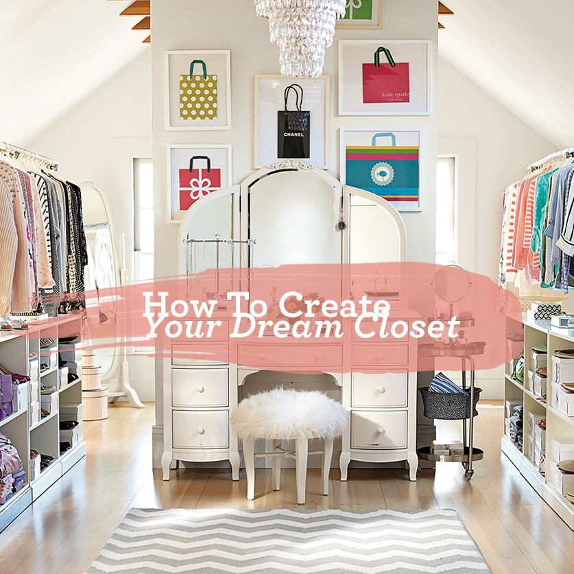 how to decorate your dream closet | From Our Blog | Pinterest ...