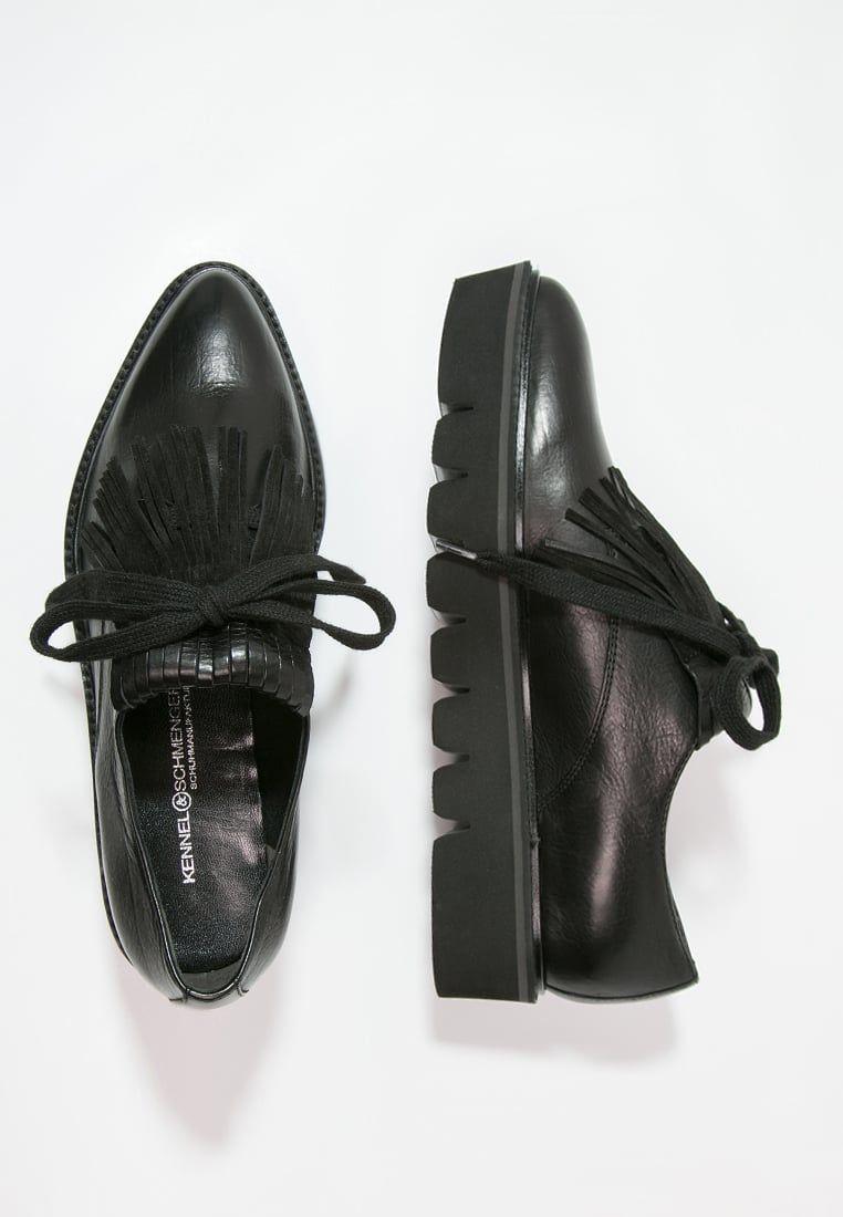 Kennel Schmenger Union Oksfordki Schwarz Zalando Pl All Black Sneakers Sneakers Black Sneaker