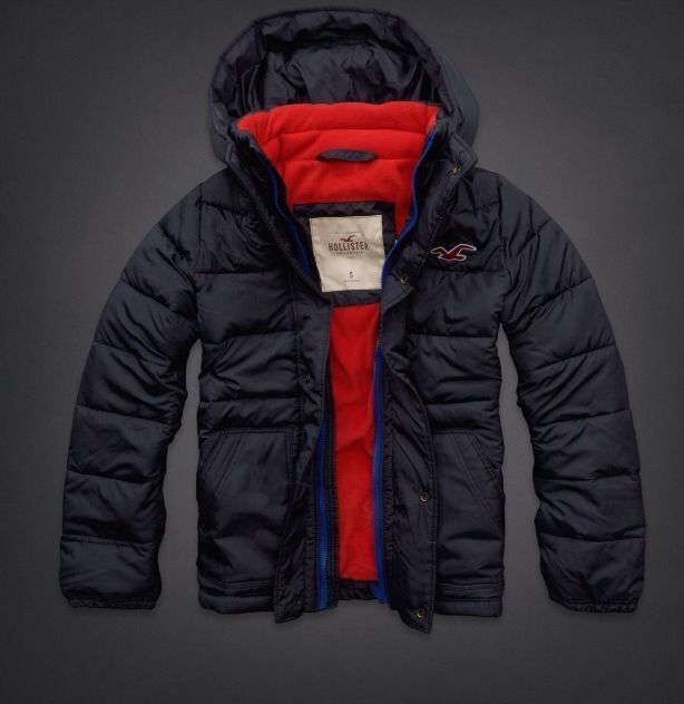 Hollister Fashion Puffer Jacket Mens