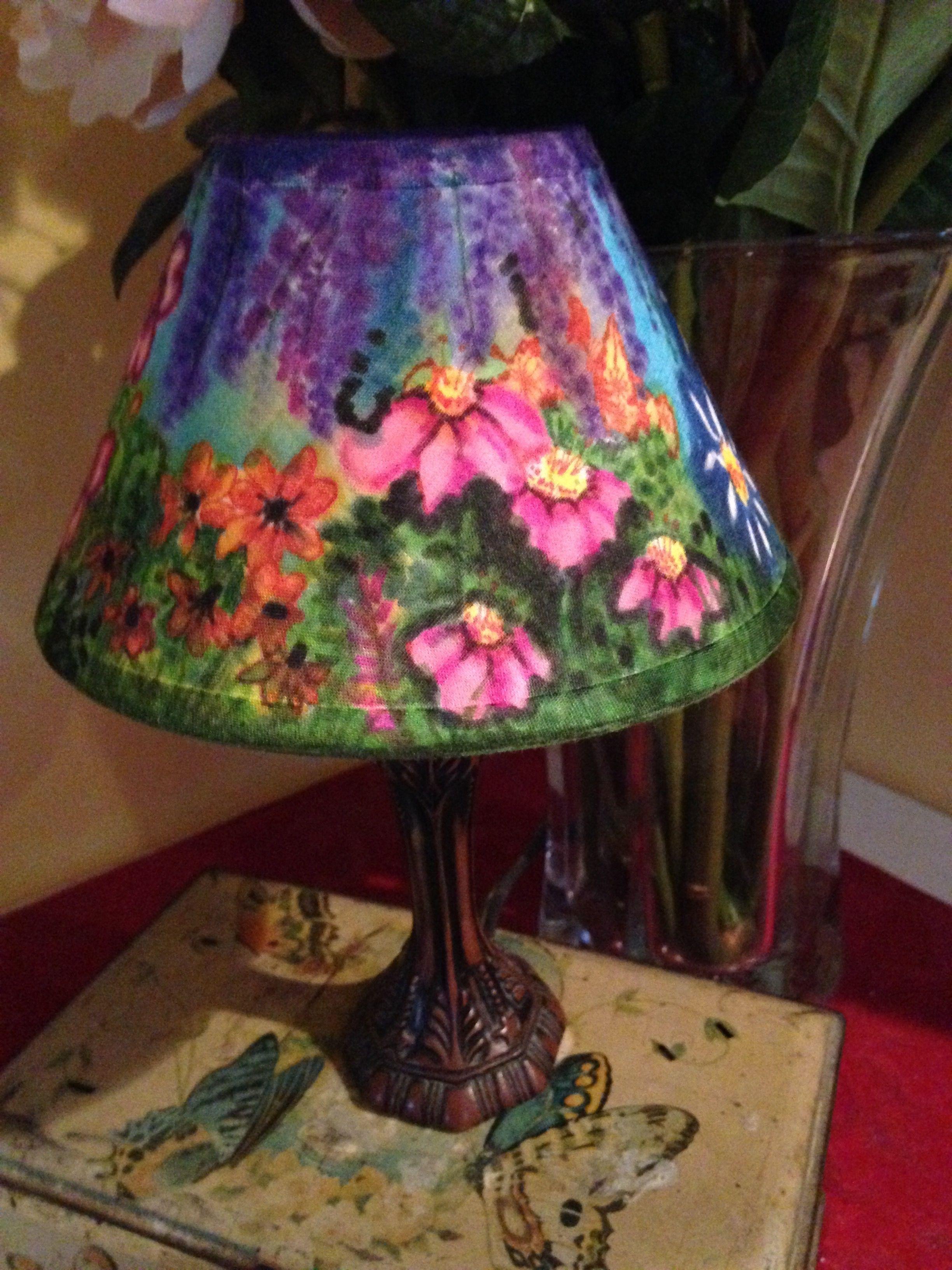 Pin By Enkhtur Bayrsaikhan O On Lamp Shades Painting Lamp Shades Colorful Lamp Shades Lampshade Designs