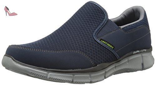 Equalizer Persistent, Sneakers Basses Homme - Bleu (nvgy), 47.5 EUSkechers