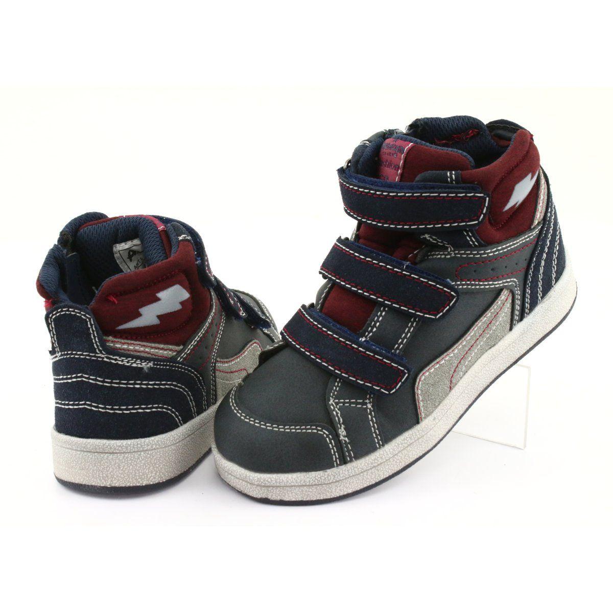 Wysokie Buty Sportowe American Club Es Granatowe Sports Shoes Sneakers High Sneakers