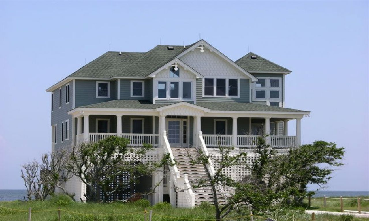 Eplans Home Design Part - 27: Beach House Plans Elevated Coastal Floor Designs And Eplans Homes