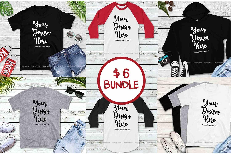 Download Tshirt Mockup Bundle Unisex Shirt Mock Up Basic Bundle 240872 Clothing Design Bundles Unisex Shirts Tshirt Mockup Design Bundles
