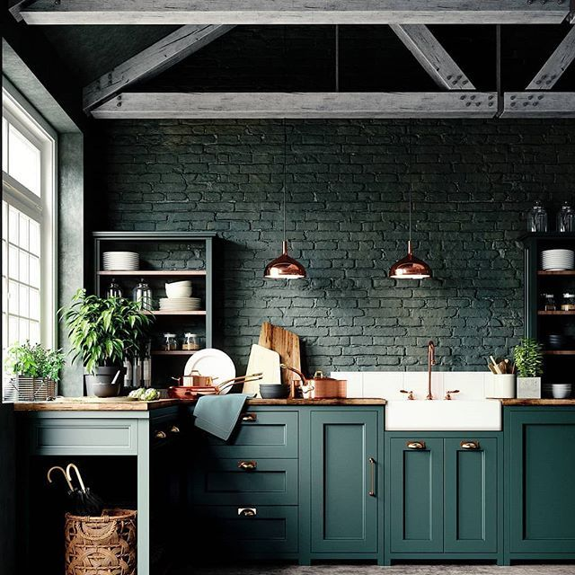 21 Victorian Style Kitchen Design And Ideas: 'Funky Victorian' Is Very Much On Trend This Year