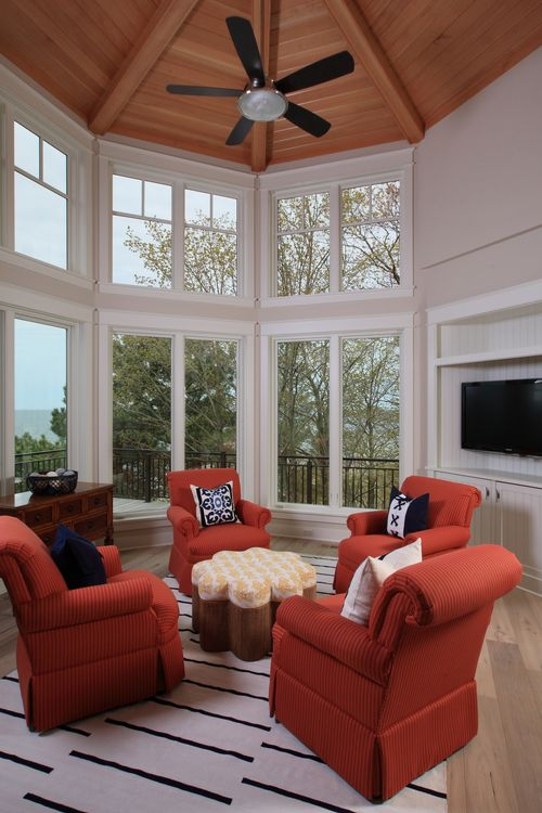 Inverness Visbeen Architects Sunroom Designs House Design Sunroom Decorating Decorate octagon shaped living room