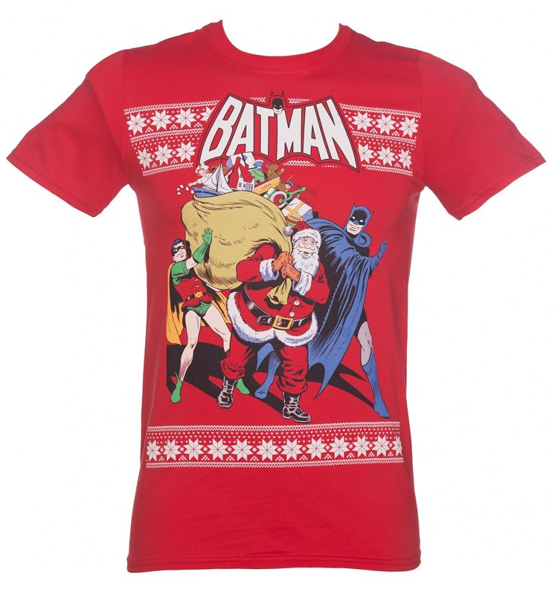 Batman Christmas tee | Nerdy & Geeky Attire | Pinterest | Batman ...