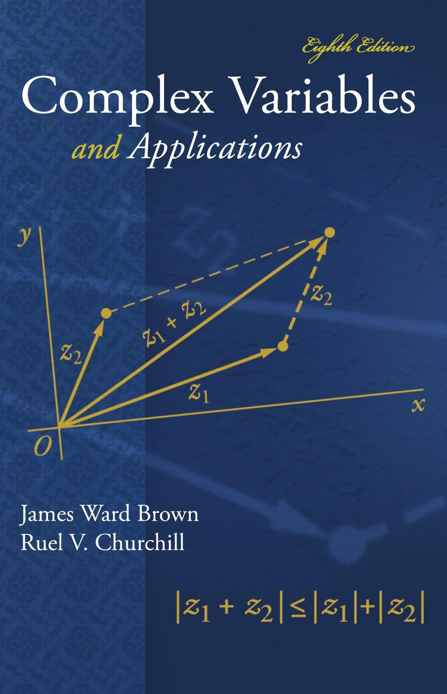 I'm selling Complex Variables and Application - Student Solution Manual by  James Brown and Ruel Churchill - $30.00 #onselz