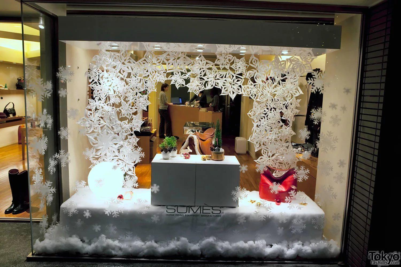 Оформление магазина одежды к новому году фото