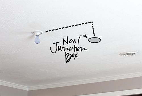 How to move your light fixture placement and install a new one how to move your light fixture placement and install a new one 7thhouseontheleft aloadofball Choice Image