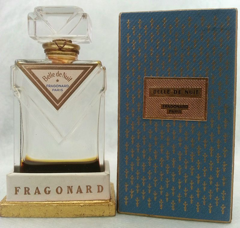 Vintage Belle De Nuit By Fragonard 15 Ml Pure Parfum Empty Ebay
