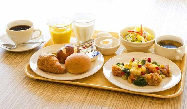 Menu Sarapan Pagi Yang Sehat Dan Bergizi Kompinikmat Com Fruhstucksideen Gesund Gesundes Fastfood Ausgewogene Mahlzeiten