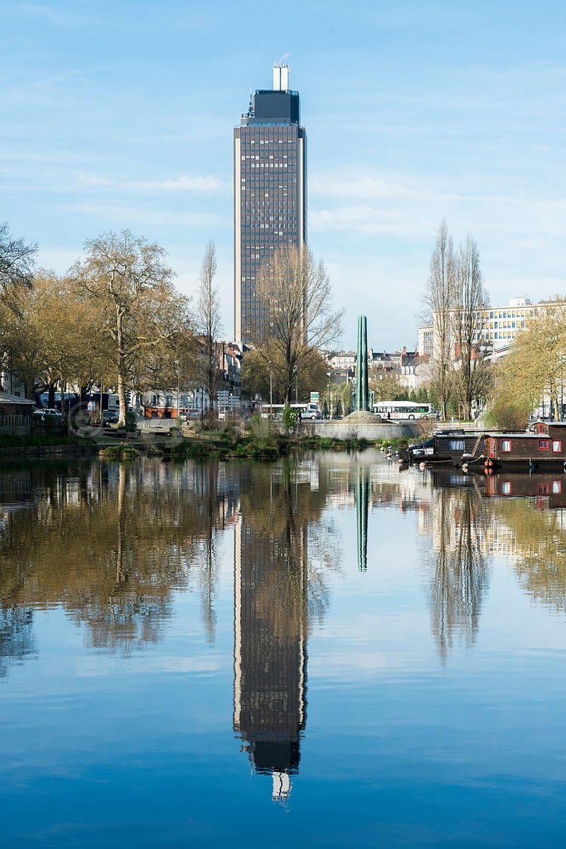 Photo de nantes photo de la ville de nantes photo de l 39 erdre quai ceineray et quai de - Piscine de nort sur erdre ...