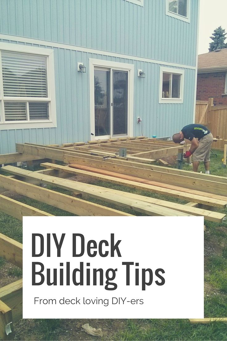 Deck Construction Tips : Deck building tips decking and floating