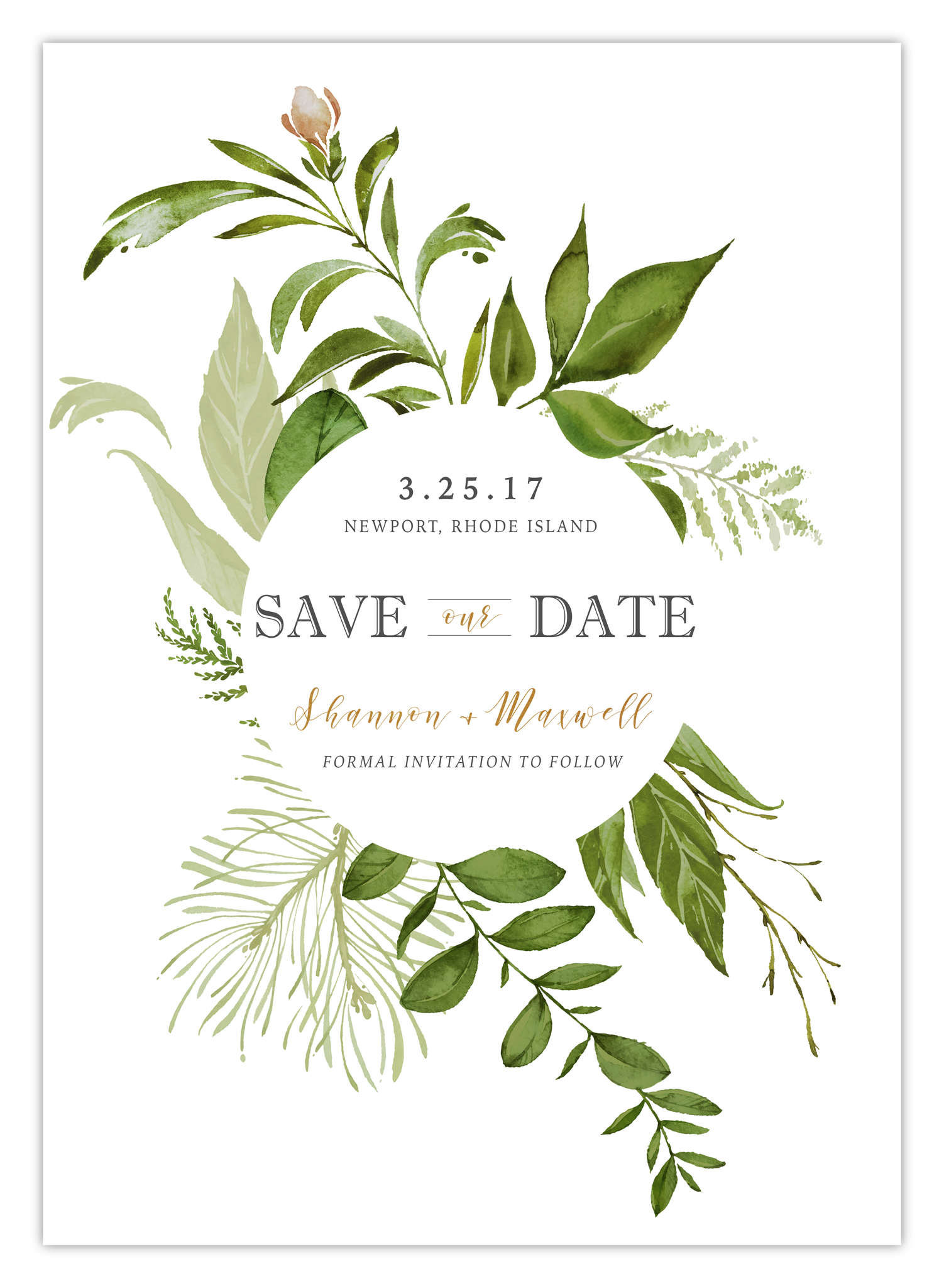 shannon save the date pretty in print paper co things and