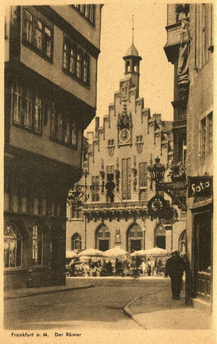 Frankfurter Roemer 1935 Frankfurt Am Main Frankfurt Stadt