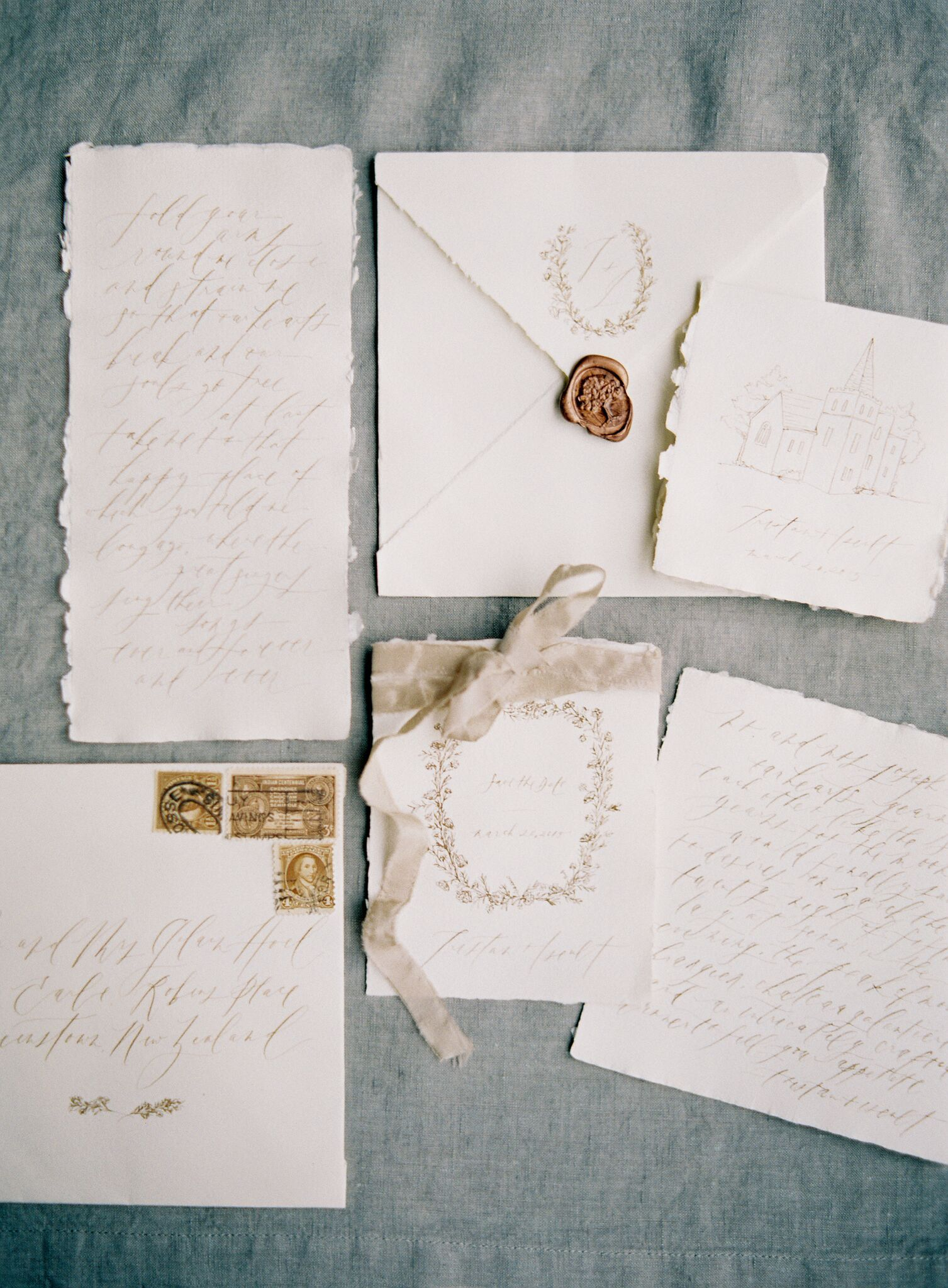 Forage and Fern workshop / handmade paper / sepia wedding ...