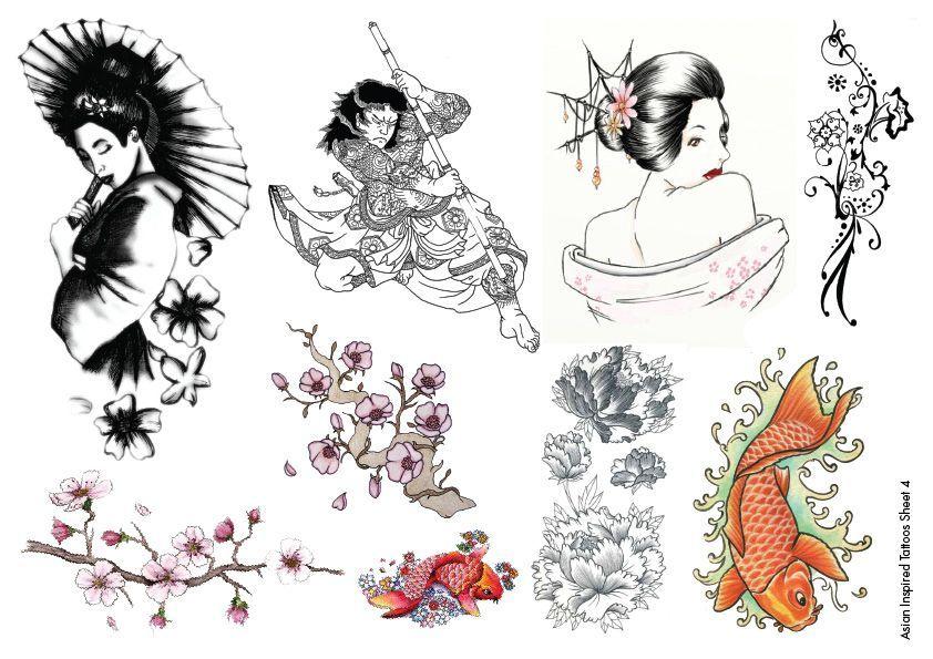 inspired tattoo Asian