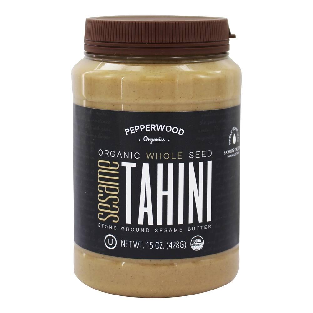 Organic stone ground whole sesame tahini butter 15 oz