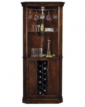 690000 Howard Miller Cherry Traditional Corner Wine Cabinet Piedmont This Traditionally Styled Bar