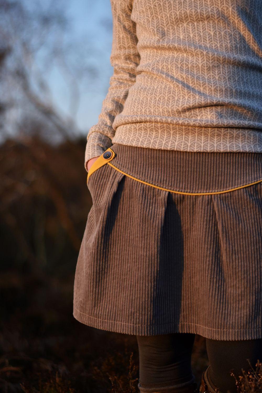 Photo of Sewing Pattern – Ebook OISTO – Skirt / Maternity Skirt – Gr. 34-5 …