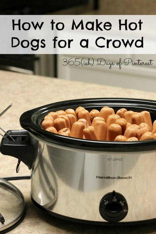 How to Cook Hot Dogs for a Crowd - Simple and Seasonal
