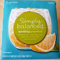 What's Good at Archer Farms?: Simply Balanced Sparkling Grapefruit Juice Beverage