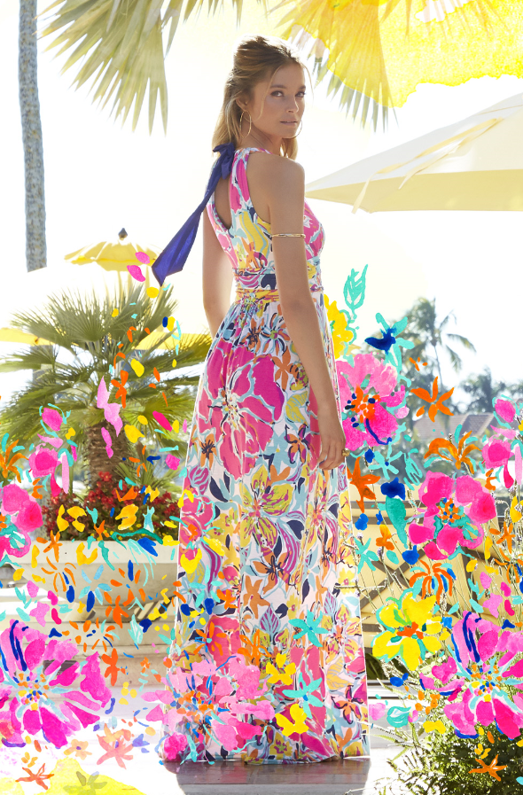 c2993ea9fe1482 Lilly Pulitzer Amada Maxi Dress in Besame Mucho   All things Lilly ...
