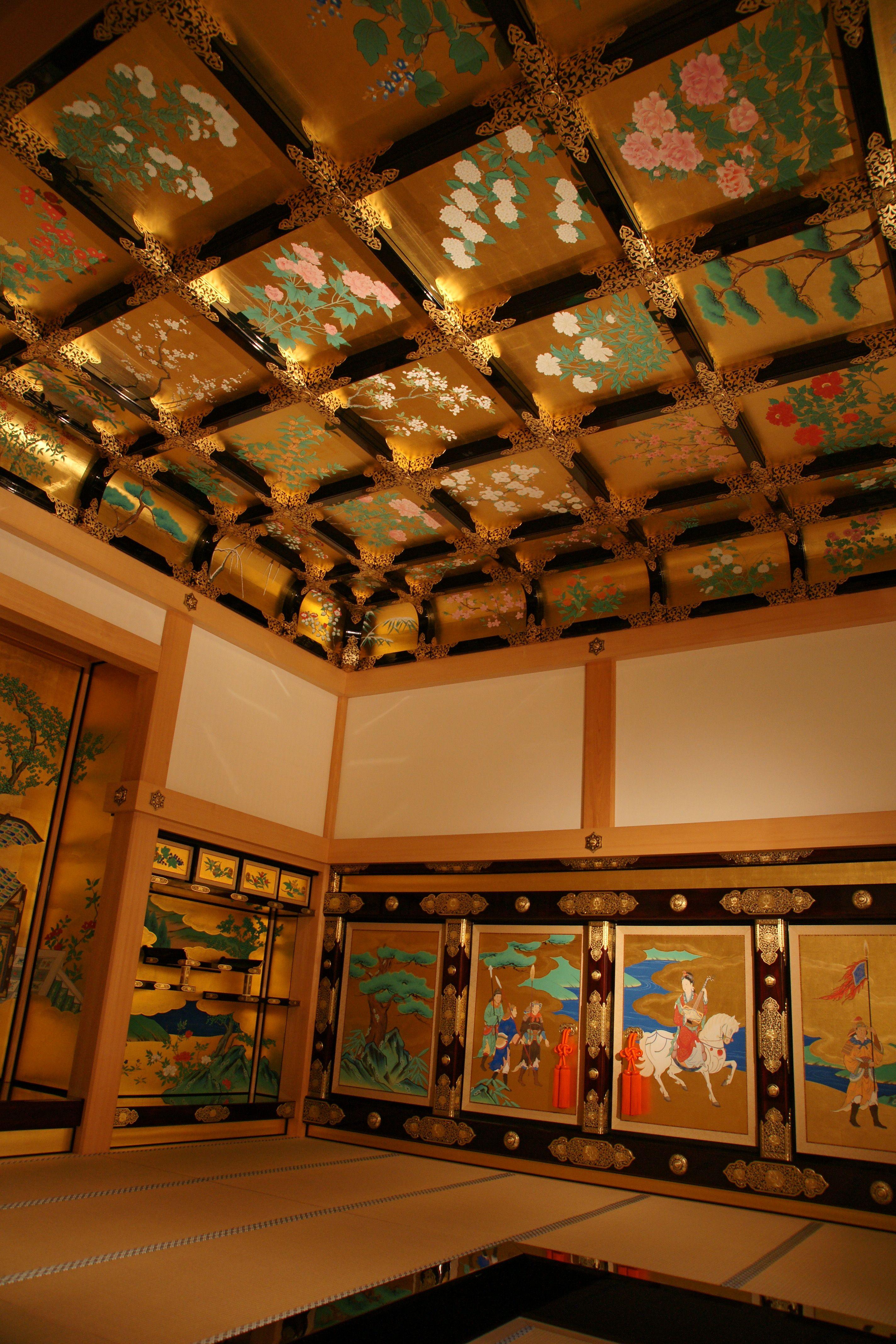 File Kumamoto Castle 30s4272 Jpg Wikimedia Commons 城 天井
