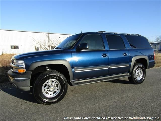 2002 Chevrolet Suburban 2500 Lt 4x4 Autoride 8 1 V8 Vortec 496 For