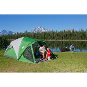 Coleman - Coleman® Evanston™ Screened Tent - got the 4 person version at Costco  sc 1 st  Pinterest & Coleman - Coleman® Evanston™ Screened Tent - got the 4 person ...