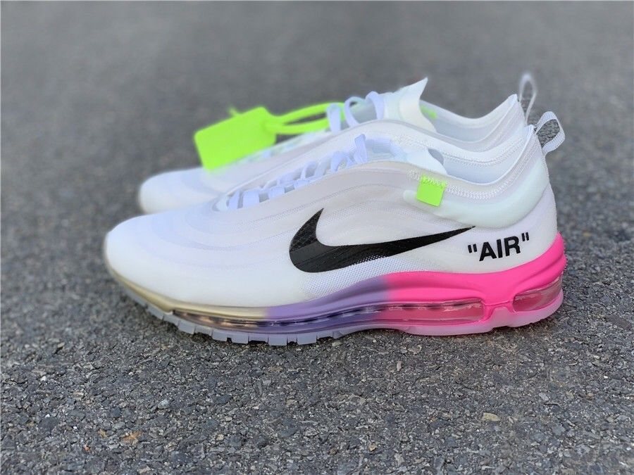 Ds Nike The Ten Air Max 97 Serena Off White Elemental Rose Size 9 Fashion Clothing Shoes Accessories Mensshoes A Nike Air Max Nike Air Max 97 Air Max 97