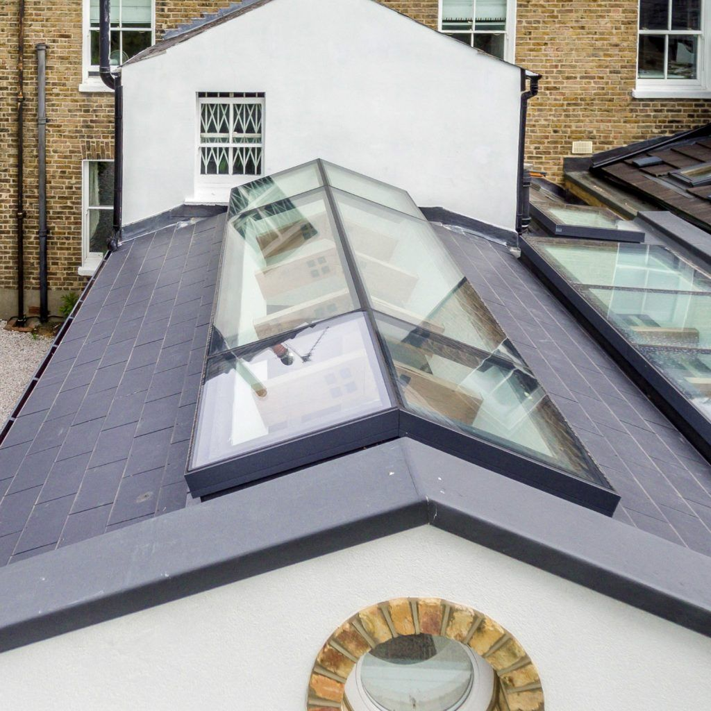 Ridgeglaze Fixed Rooflight For Pitched Roofs Glazing Vision In 2020 Roof Light Home Building Design House Exterior