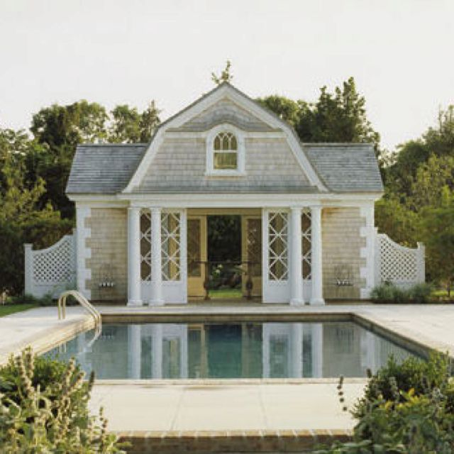 Dreamy Pool House Houzz