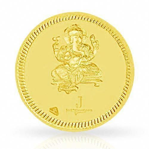 Gold Coin 1 Gm Price In India