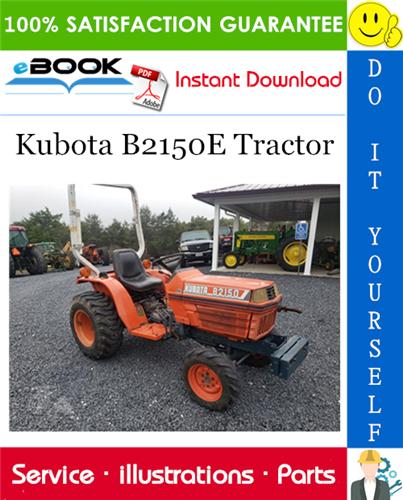 Kubota B2150e Tractor Parts Manual Tractors Kubota Tractor Parts