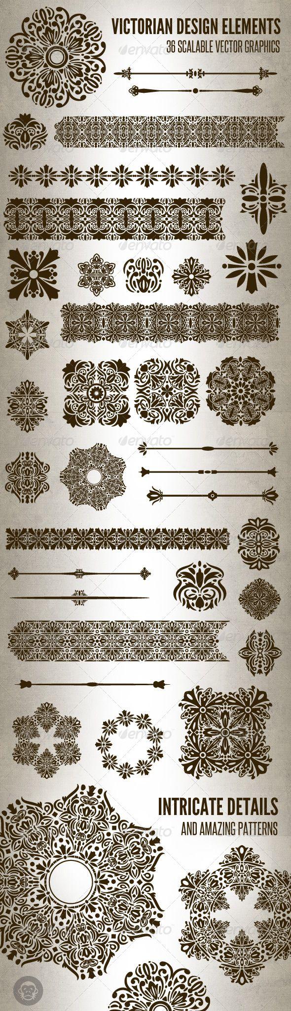 36 Victorian Design Elements Design Elements Victorian Design