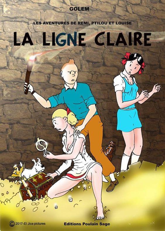 Les Aventures De Tintin - Album Imaginaire - La Ligne -5610