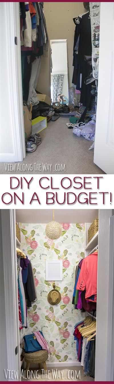 Stunning Closet Makeover And A Million Brilliant Ideas To Steal For Your  Home!