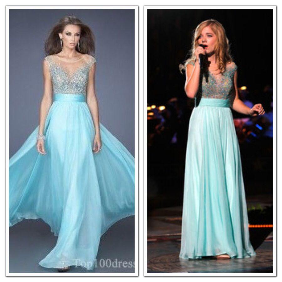 Dresses worn by Jackie Evancho:Chiffon Sleeveless Bateau Long ...