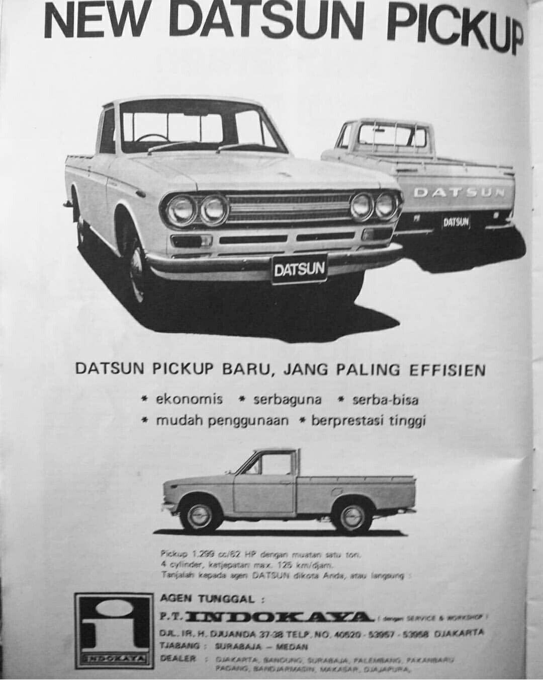 Iklan Datsun 520 Pick Up Periklanan Mobil Indonesia