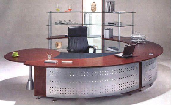 Modern Round U Shaped Desk With Metal U Shaped Office Desk