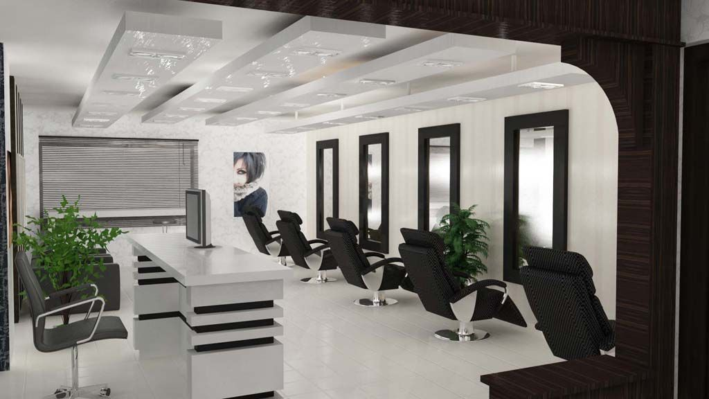 Beauty Salon Design | ... Design Of Beauty Salon Category Salons And  Studios Type Interior Views | Beauty Shop | Pinterest | Salon Design, Beauty  Salon ...