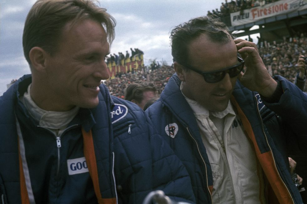How Ford Beat Ferrari At Le Mans Le Mans Ford Race Cars